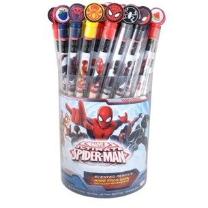 Spider-Man Smencils Cylinder of 50